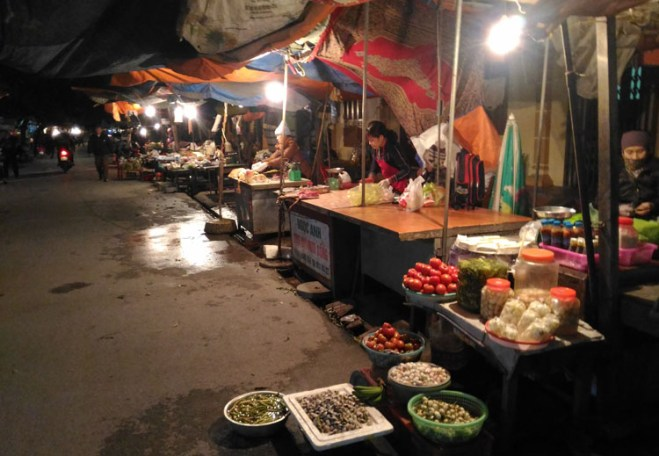 Ninh Binh market, Vietnam
