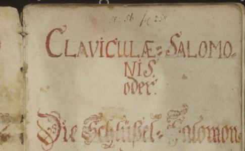 Slide 29 - Clavicle of Solomon
