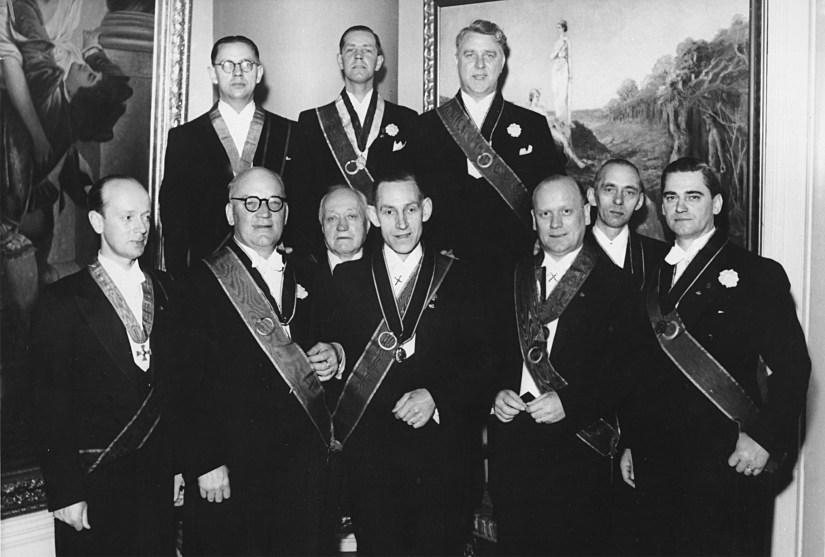 Kören i mitten 1950-talet