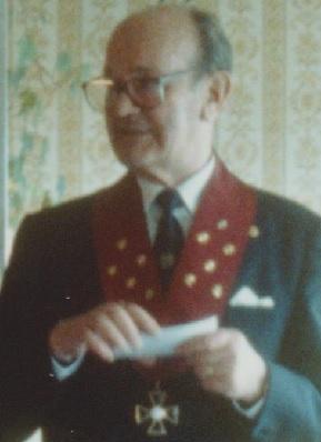 Gerhard Mattus håller tal 1992