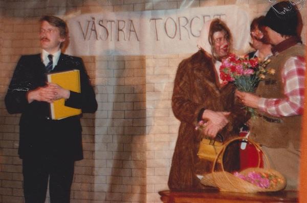 Anders Ruberg i Spex 1981