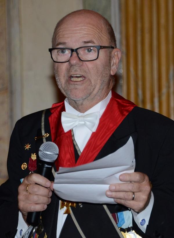 Jan Skårstedt, ML, tackar för maten