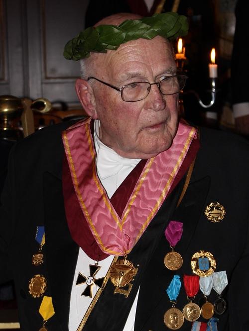 Jubelkommendören Olof Björklund
