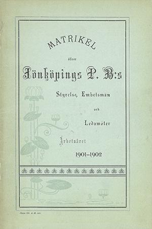 JPB Matrikel 1901-1902