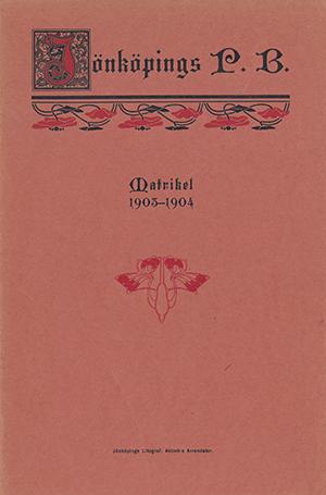 JPB Matrikel 1903-1904