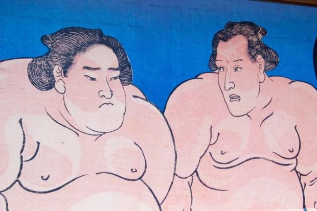 sumo-painting