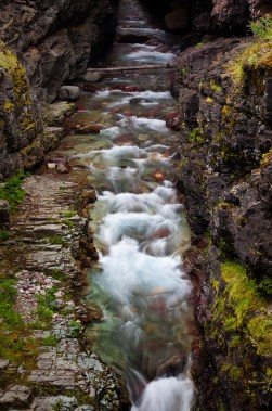 Sunrift Gorge, Glacier National Park