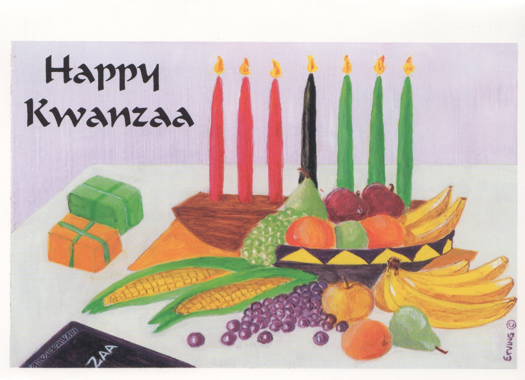 Kwanzaa Card JonMar Greeting Cards