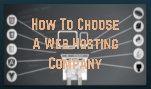How to Choose A Web Host for Your Blog