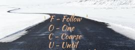 3 Insights Around The Focus Acronym