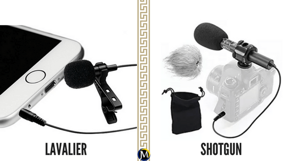 Ingredient To Successful Videos lavalier vs shotgun
