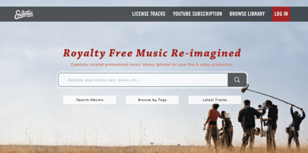 royalty free music for youtube videos - epidemic sound.png