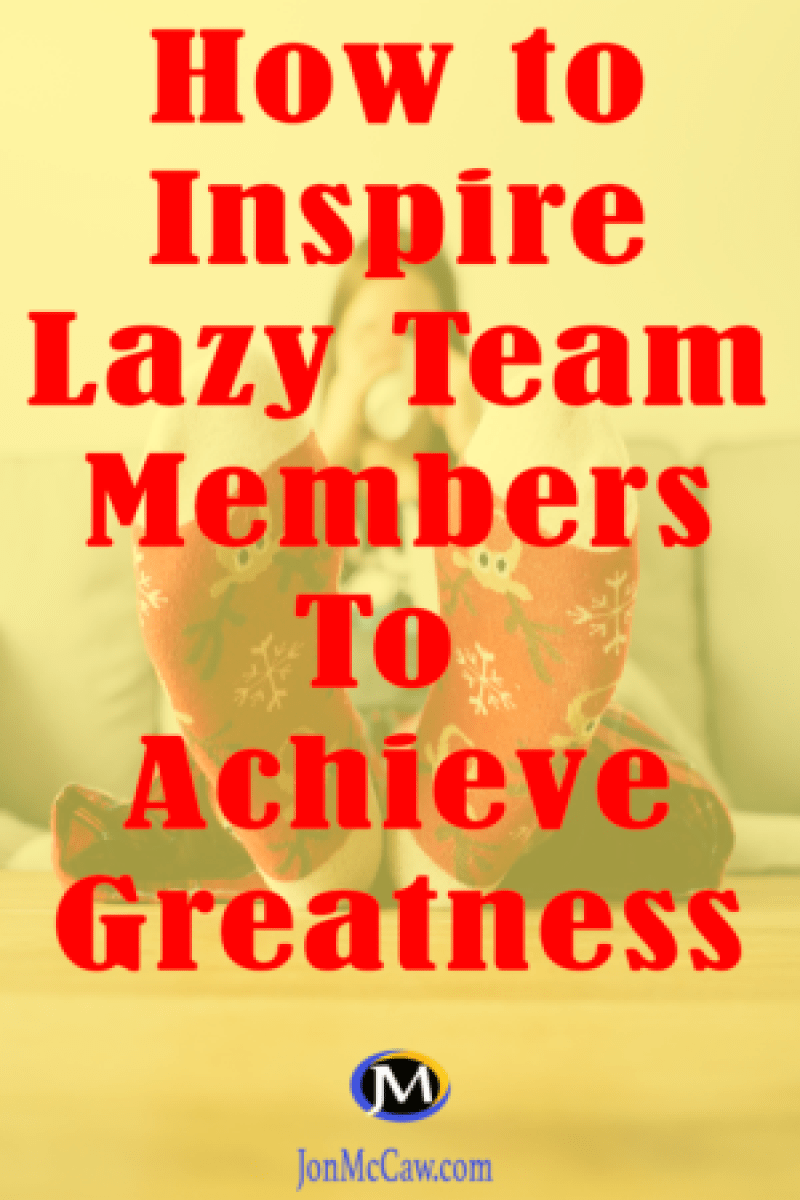 get lazy members to produce