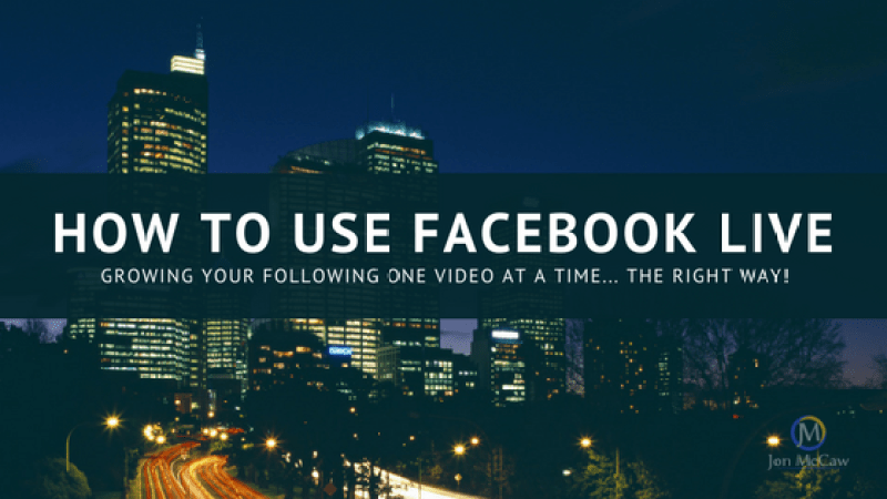 how to use zoom on facebook live