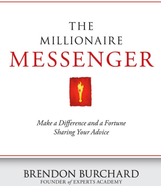 Books About Online Business Marketing - The Millionaire Messenger by Brendon Burchard