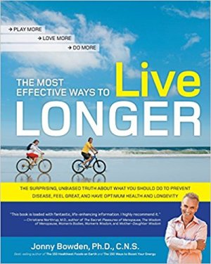 The Most Effective Ways To Live Longer - Book Cover