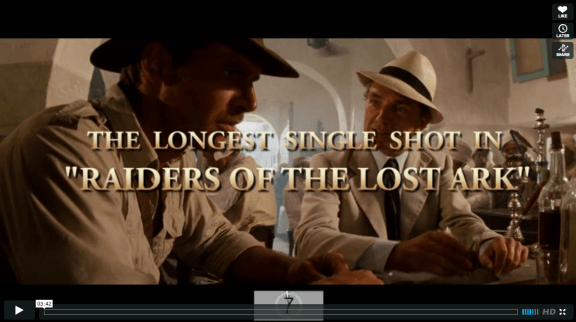Long Takes - Raiders of the Lost Ark