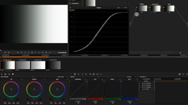 Working with LUTS in Resolve