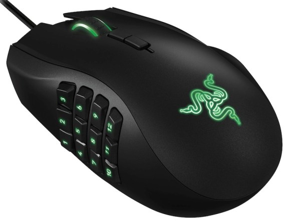 razer naga editing set up