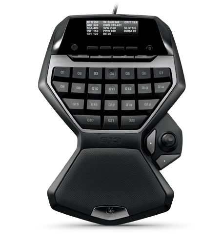 editing with the logitech G-13