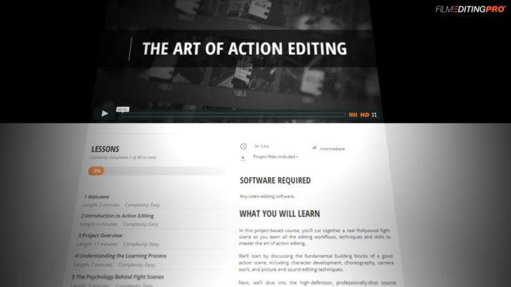Editing courses to learn editing