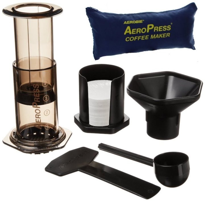 Aeropress coffee maker kit
