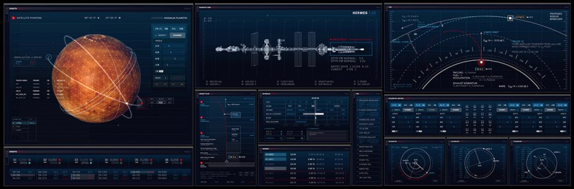 The Martian User Interface graphics visual effects