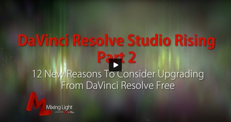 davinci resolve free vs paid