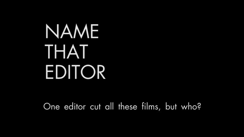 Name that Editor
