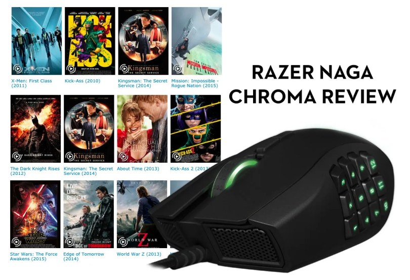 Razer Naga Chroma Film Editing Review