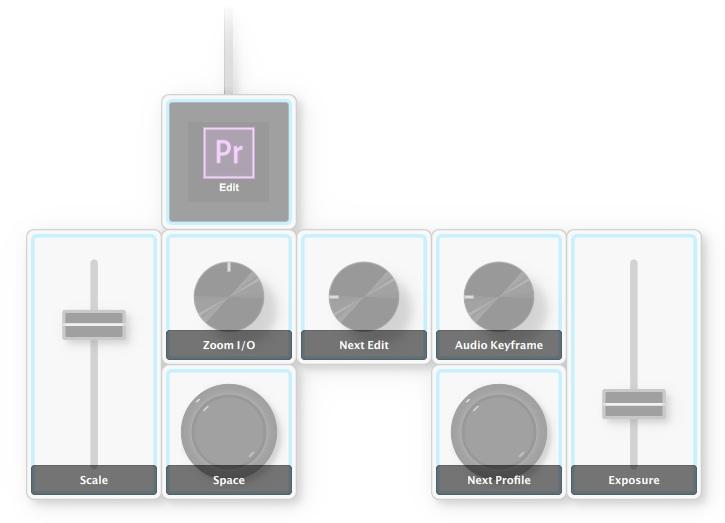 Editing profile in palette premiere pro