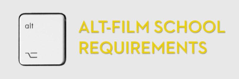 Alternative film school for editors