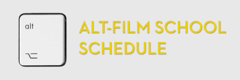 a week at film school for editors