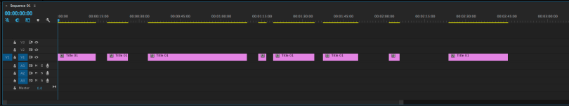 how to close all gaps in premiere pro sequence