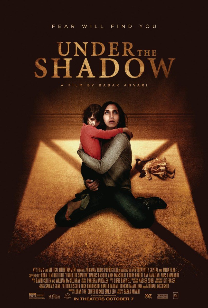 making of under the shadow film