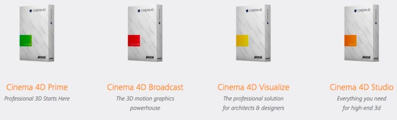 which version of Cinema 4D should I buy?