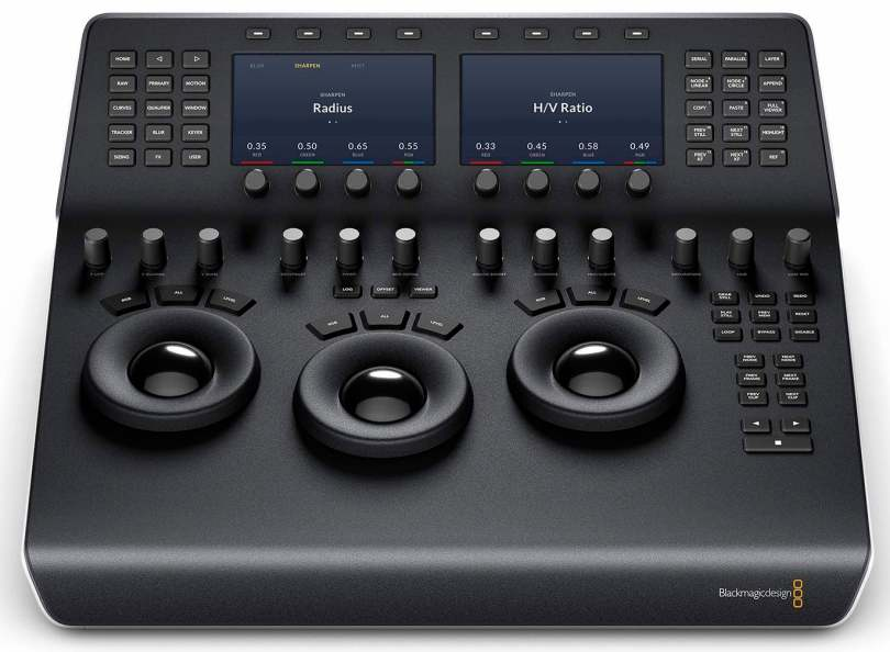 blackmagic colour grading control panels reviewed