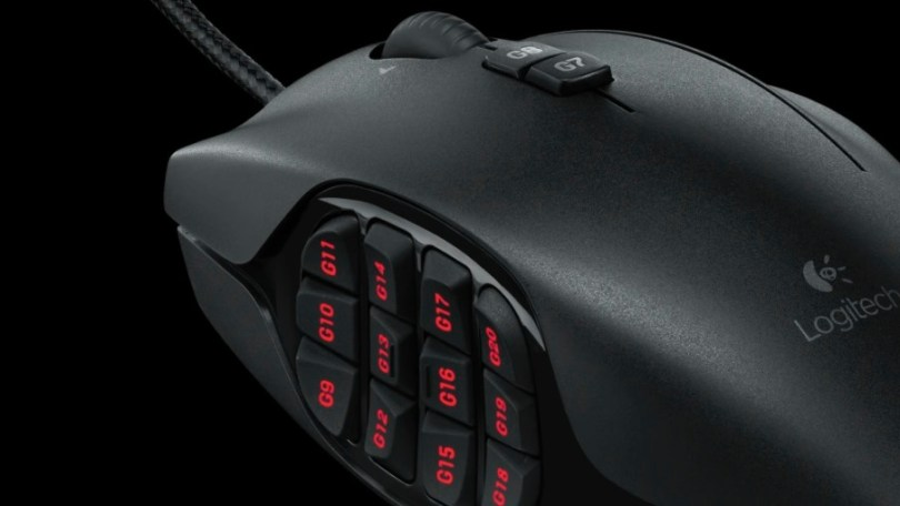 Logitech G600 mouse review for film editing