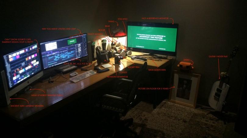 Charlie austin FCPX Edit suite