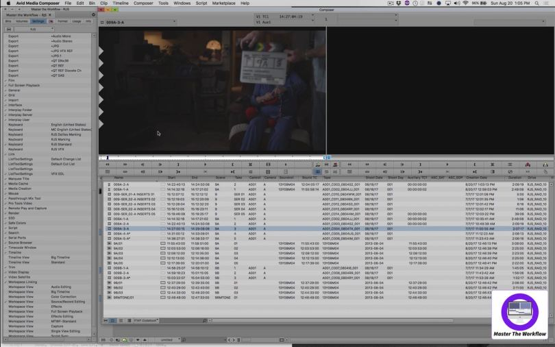 how to sync dailies in avid media composer