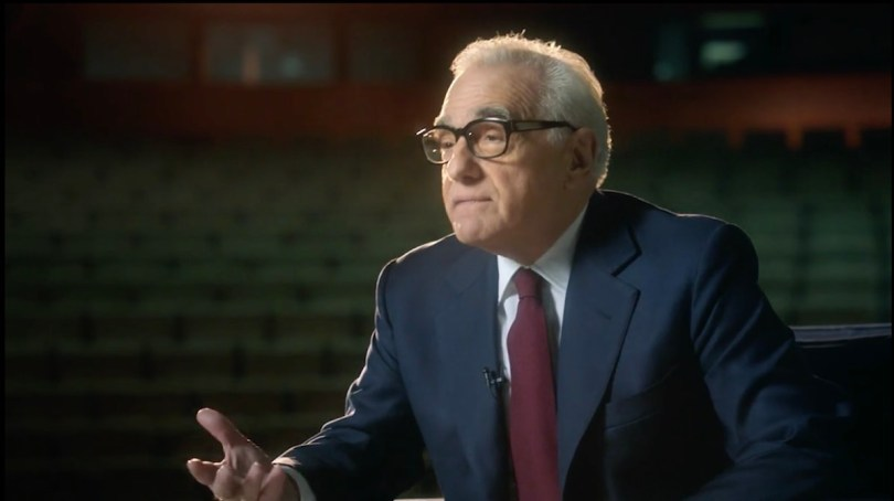 Teaching filmmaking Martin Scorsese