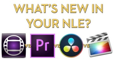 nab 2018 new features in premiere pro, avid media composer, fcpx, davinci resolve 15