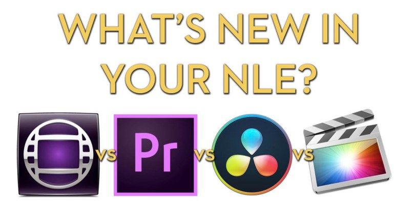 What's new in your NLE