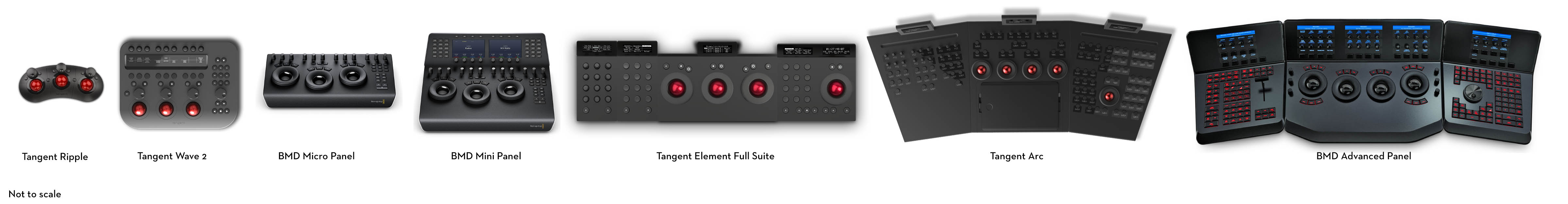 colour grading control surfaces