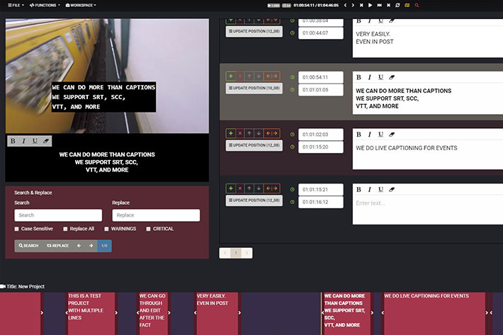 tools for creating closed captions online