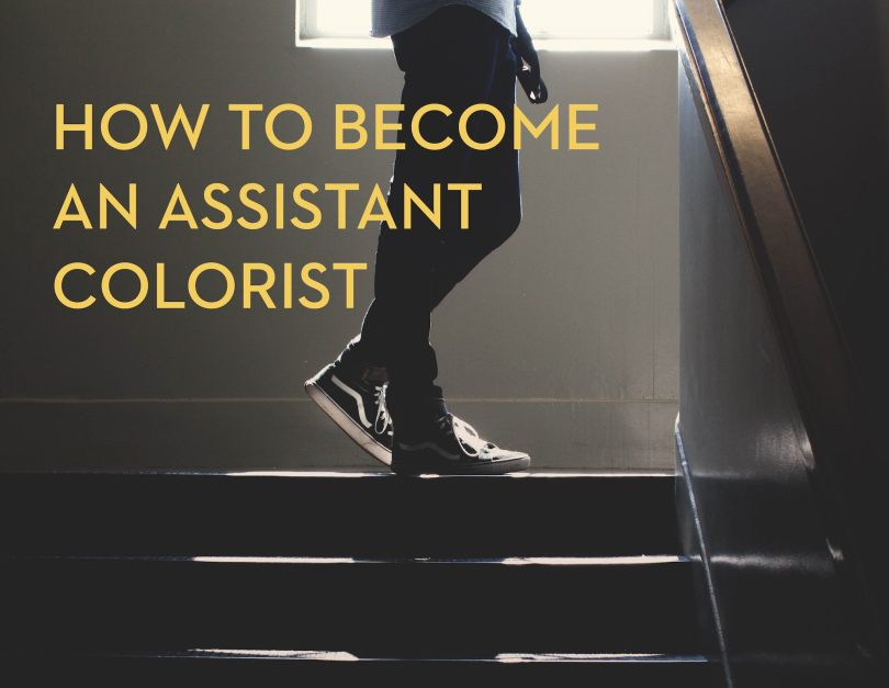 how to become an assistant film colorist