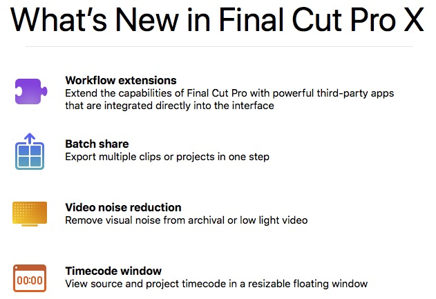 FCPX 10 4 4 New Features, Tips and Tutorials | Jonny Elwyn