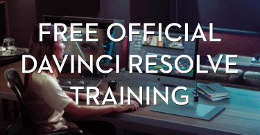 Official davinci resolve training from blackmagic design