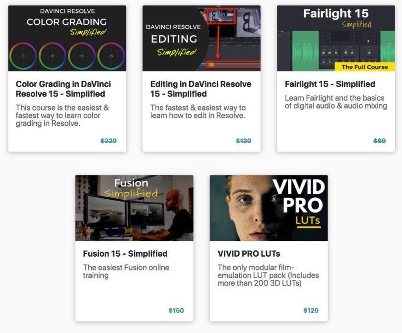 DaVinci Resolve sale