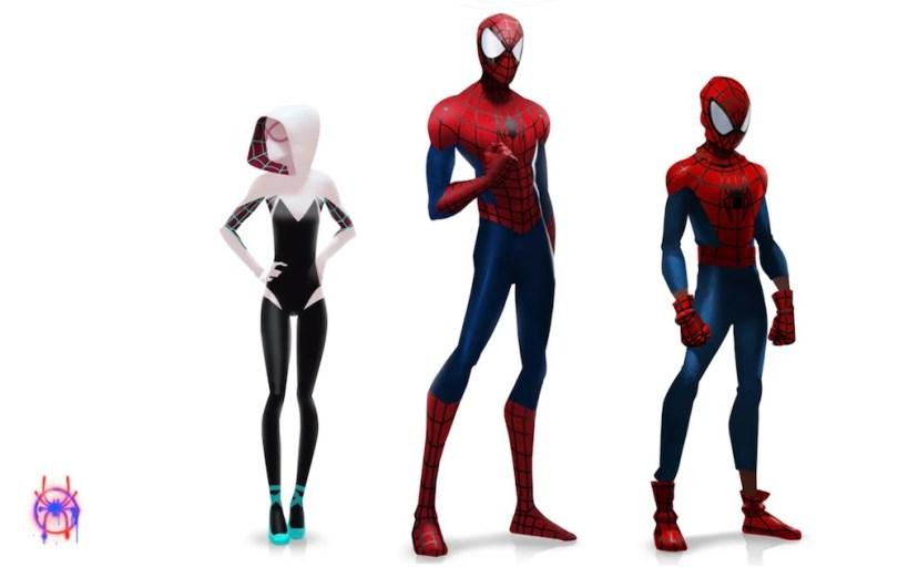 spiderman storyboard artwork